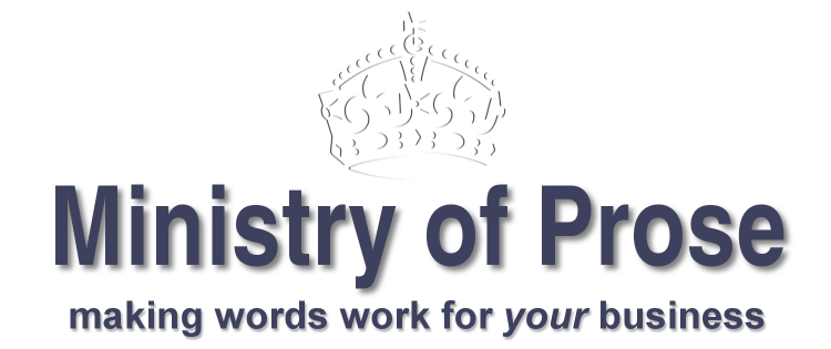 Ministry of Prose: making words work for your business